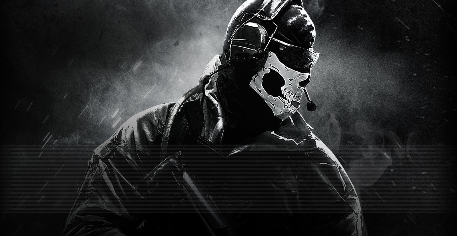 Warfare 2 Wallpaper Ghost 6328 Hd Wallpapers in Games   Imagescicom 1600x826