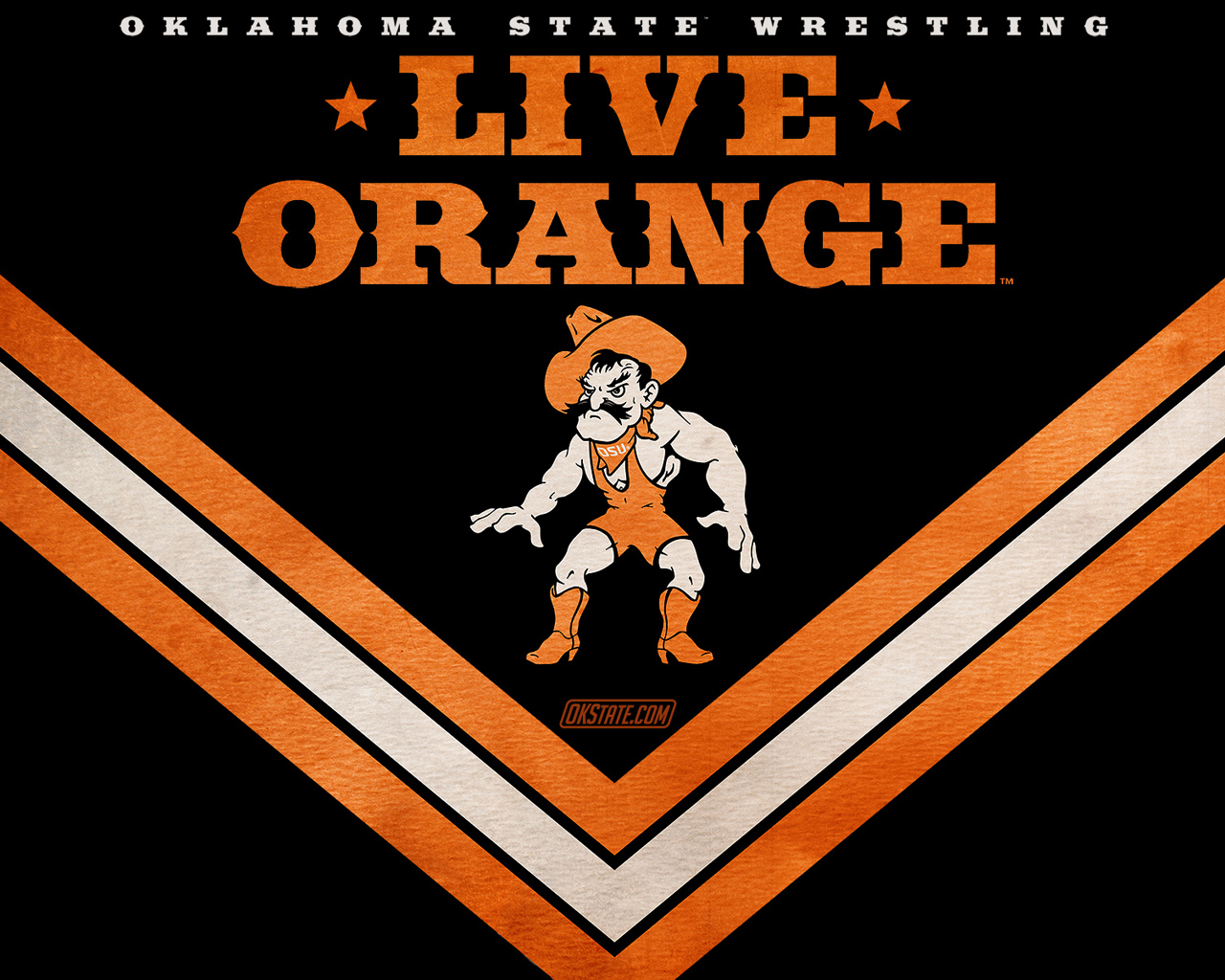 Oklahoma State Official Athletic Site   Wrestling 1280x1024