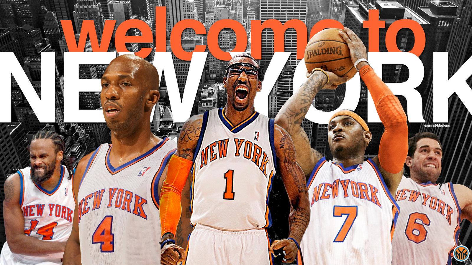 New York Knicks Wallpaper Widescreen 1600x900