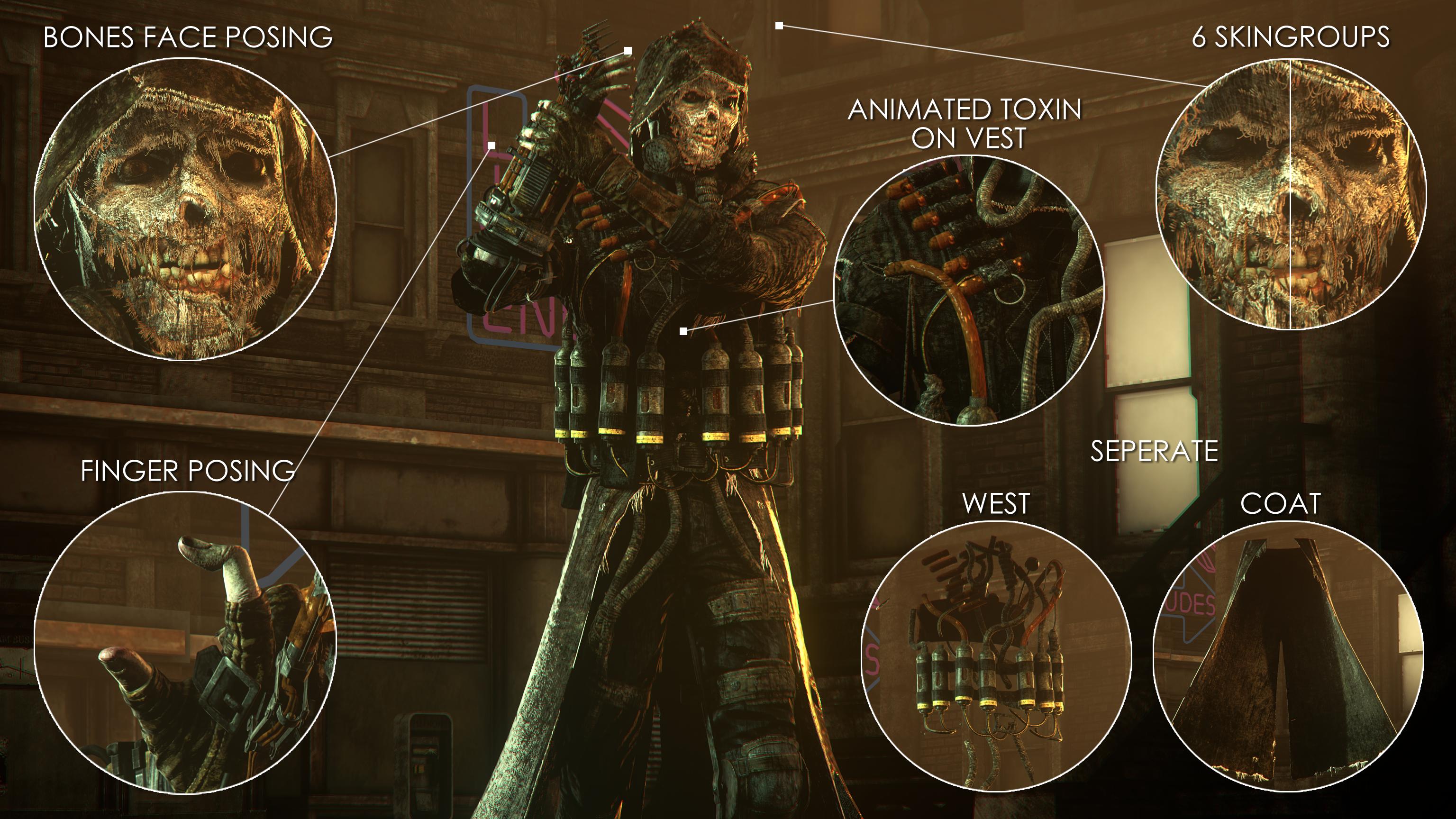 Arkham Knight Scarecrow by MrShlapa 3072x1728