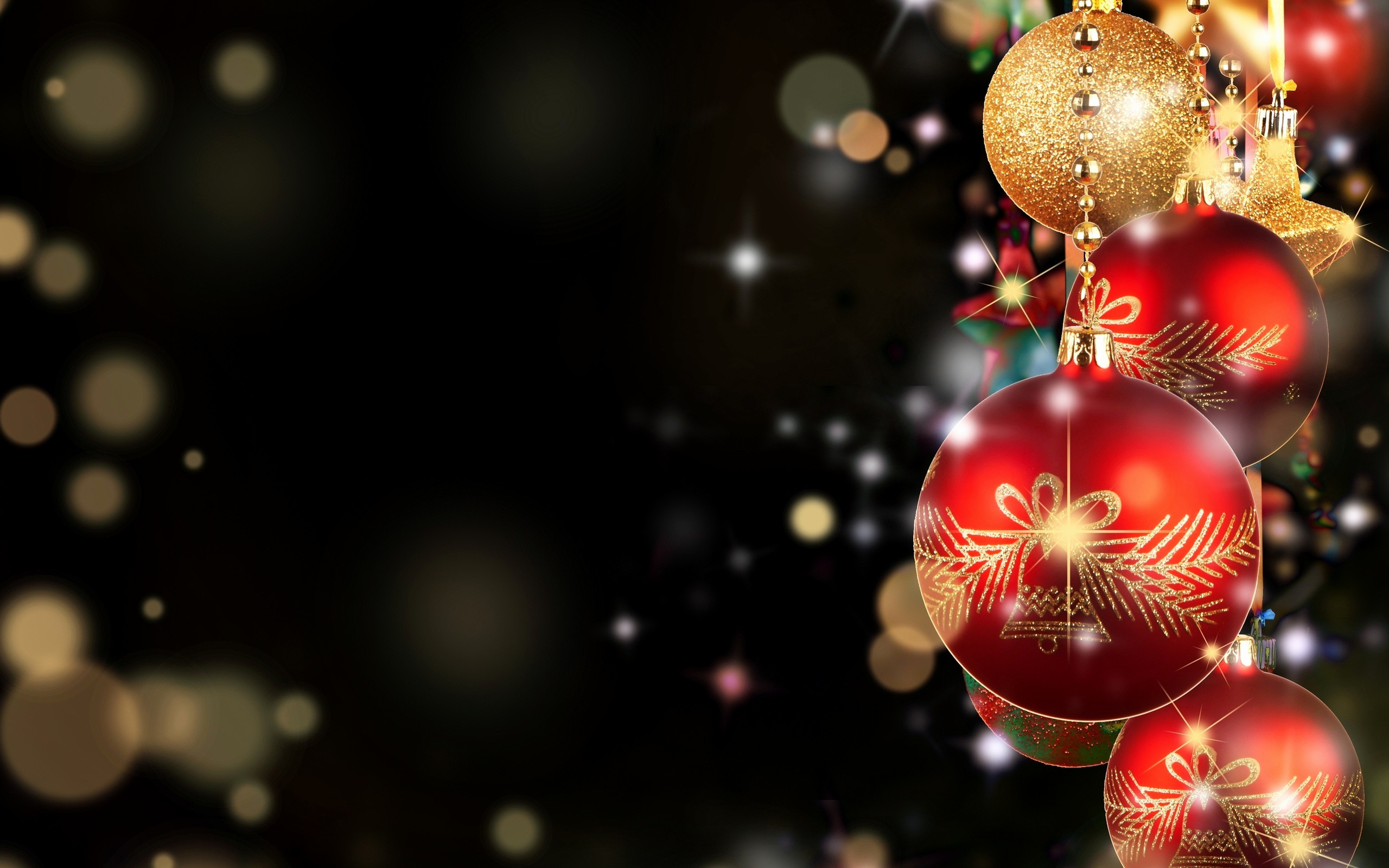 77 Christmas Desktop Wallpapers on WallpaperPlay 2560x1600