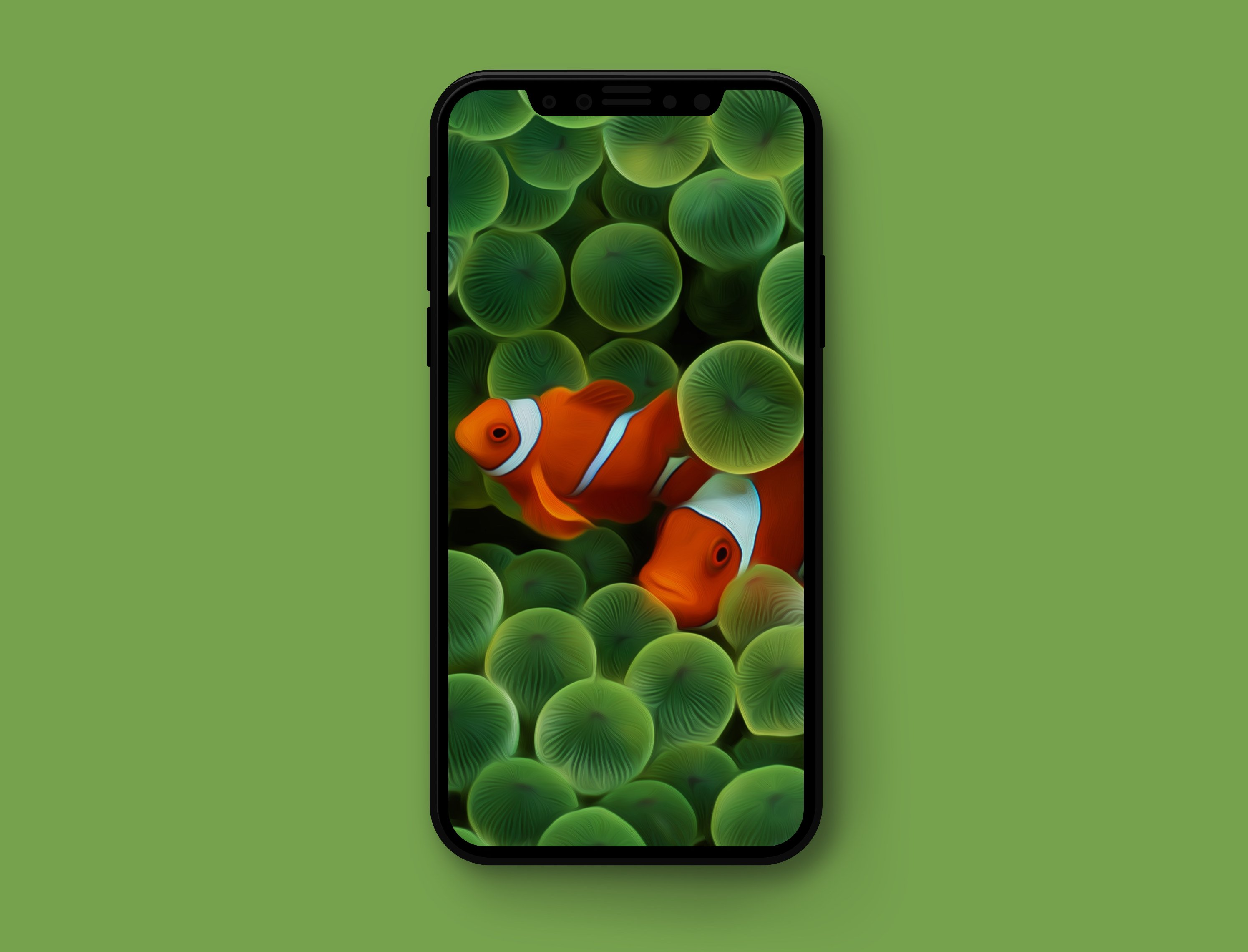 Original Apple wallpapers optimized for iPhone X 2992x2282