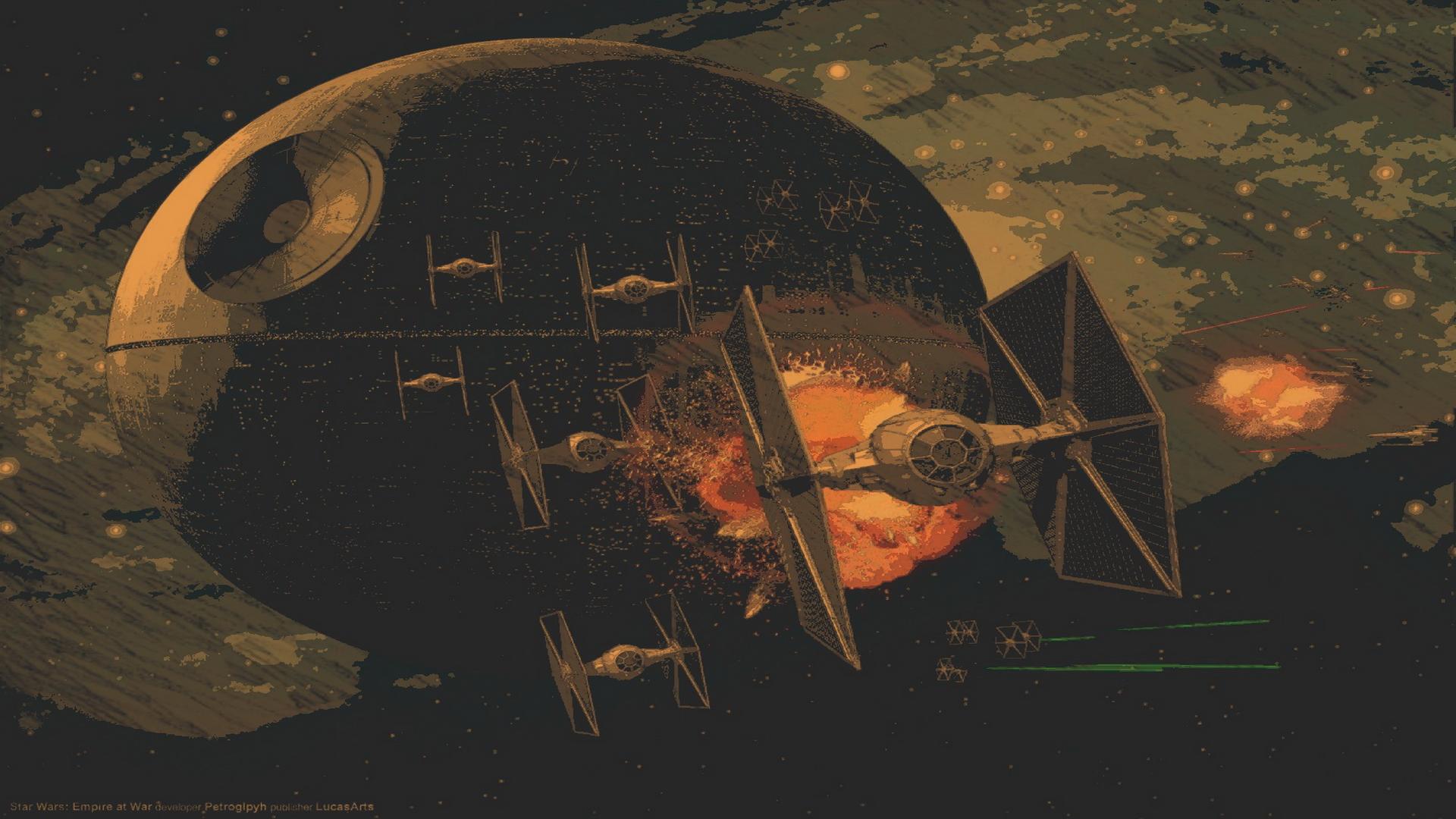 Star Wars Battle Backgrounds: Star Wars Space Battle Wallpaper