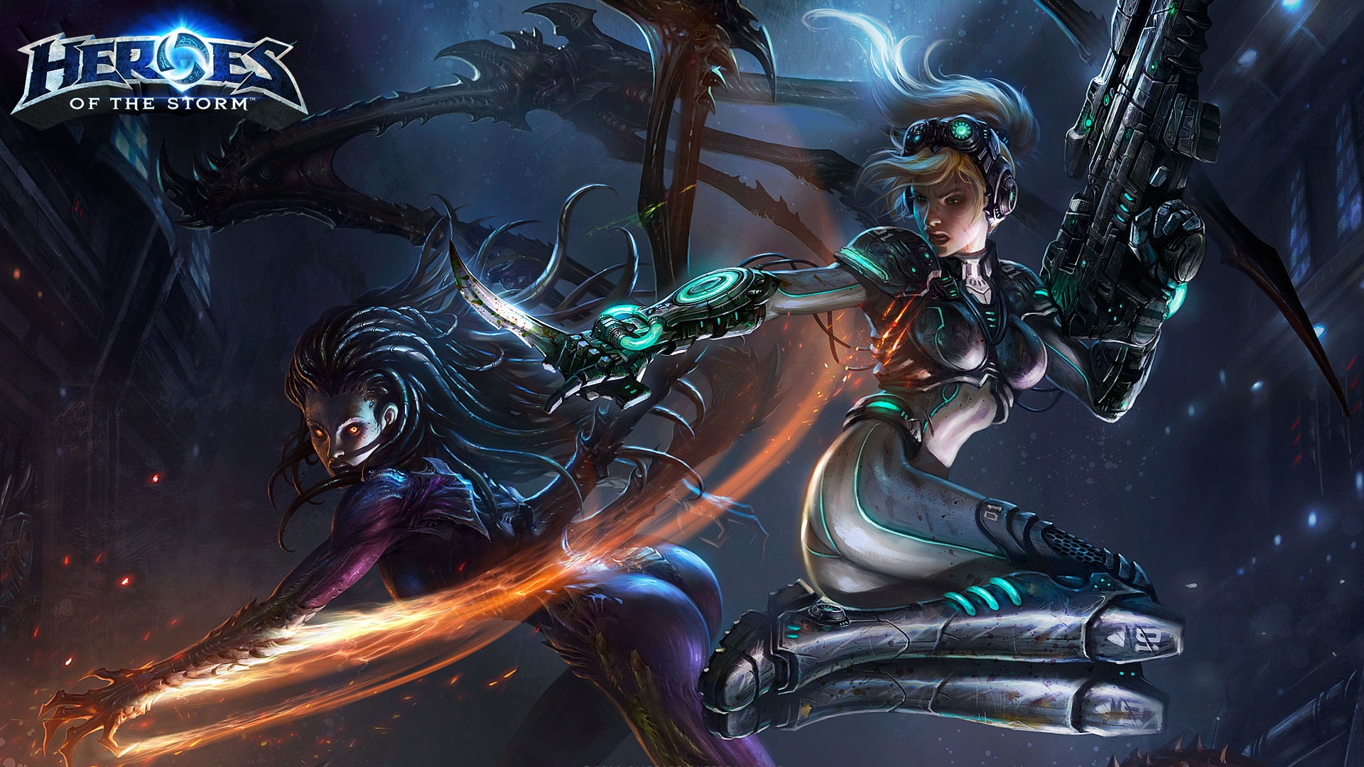 Free Download Heroes Of The Storm Hd Wallpaper Background Image