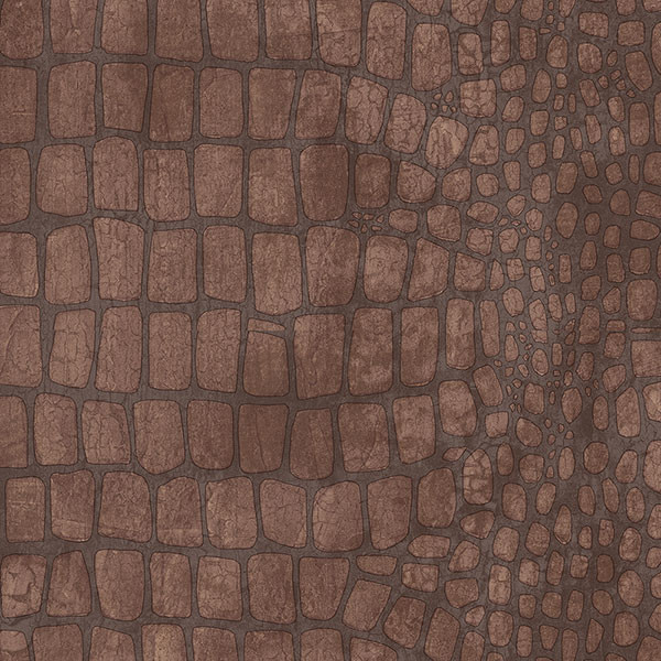 Alligator Skin Pattern Wallpaper Brown   Traditional   Wallpaper   by 600x600