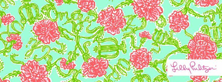 Lilly Pulitzer Alpha Chi Omega Print  items coming soon May make good 736x272