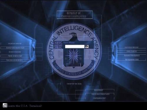 cia wallpaper CIA   Log Into It 500x374