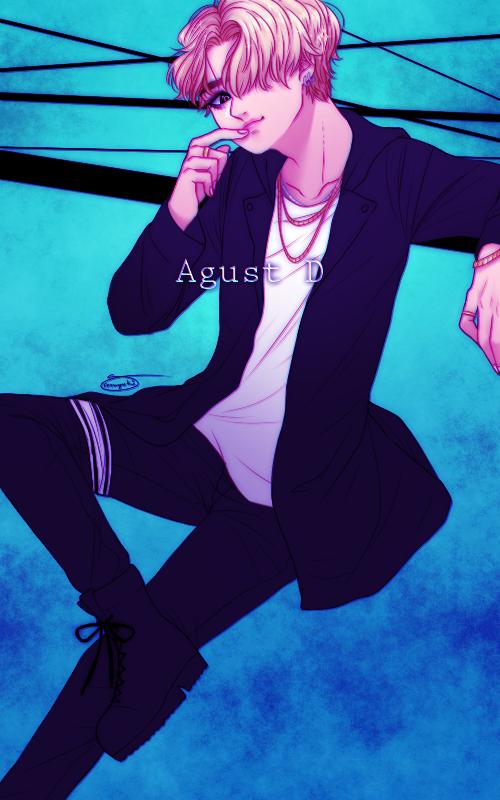 Agust D by SnowYuki96 500x800