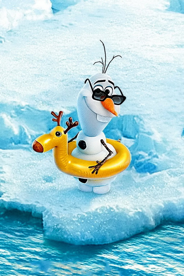 Download Olaf frozen   Love wallpapers 640x960
