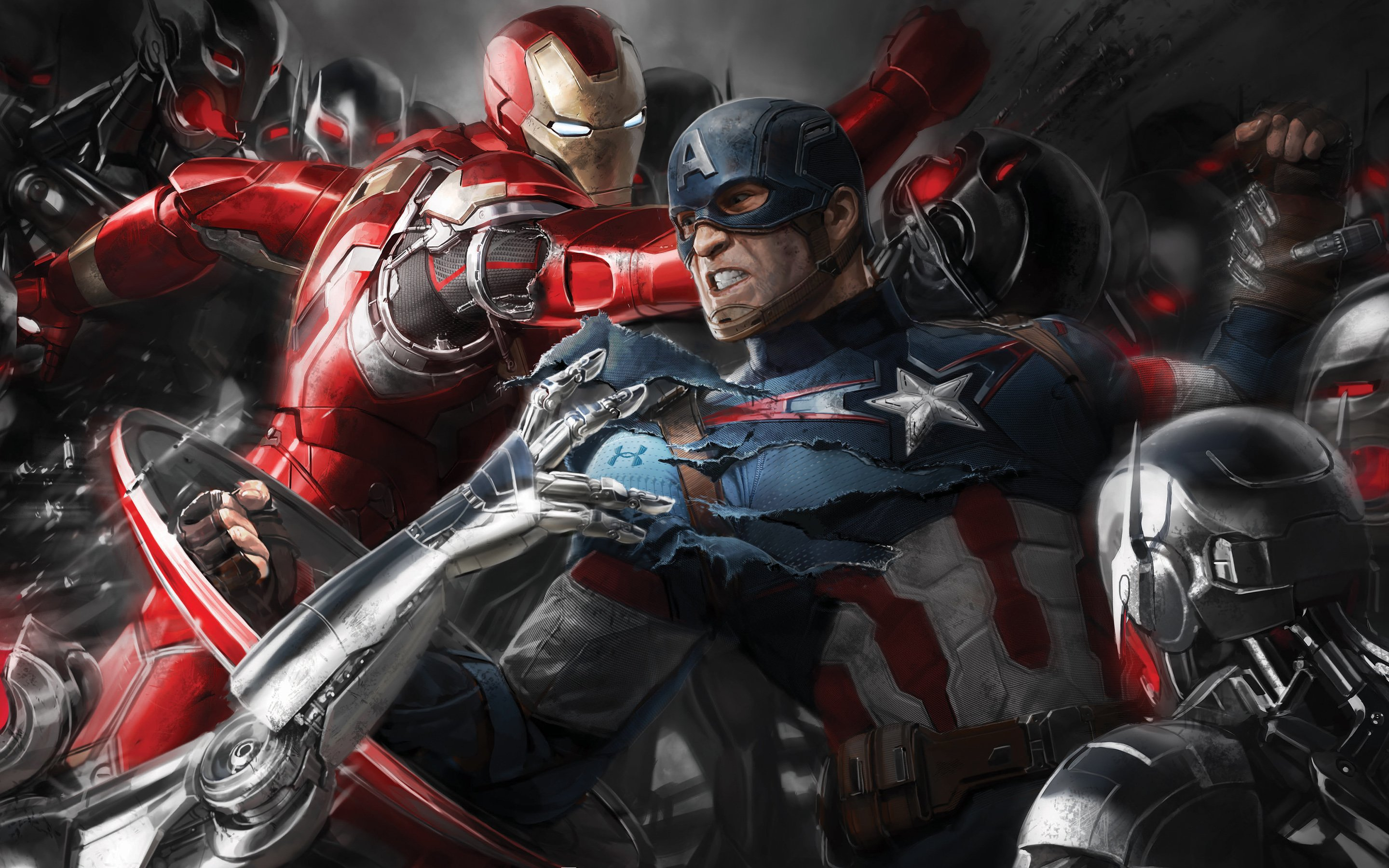 Avengers Age of Ultron Artwork Wallpapers HD Wallpapers 2880x1800