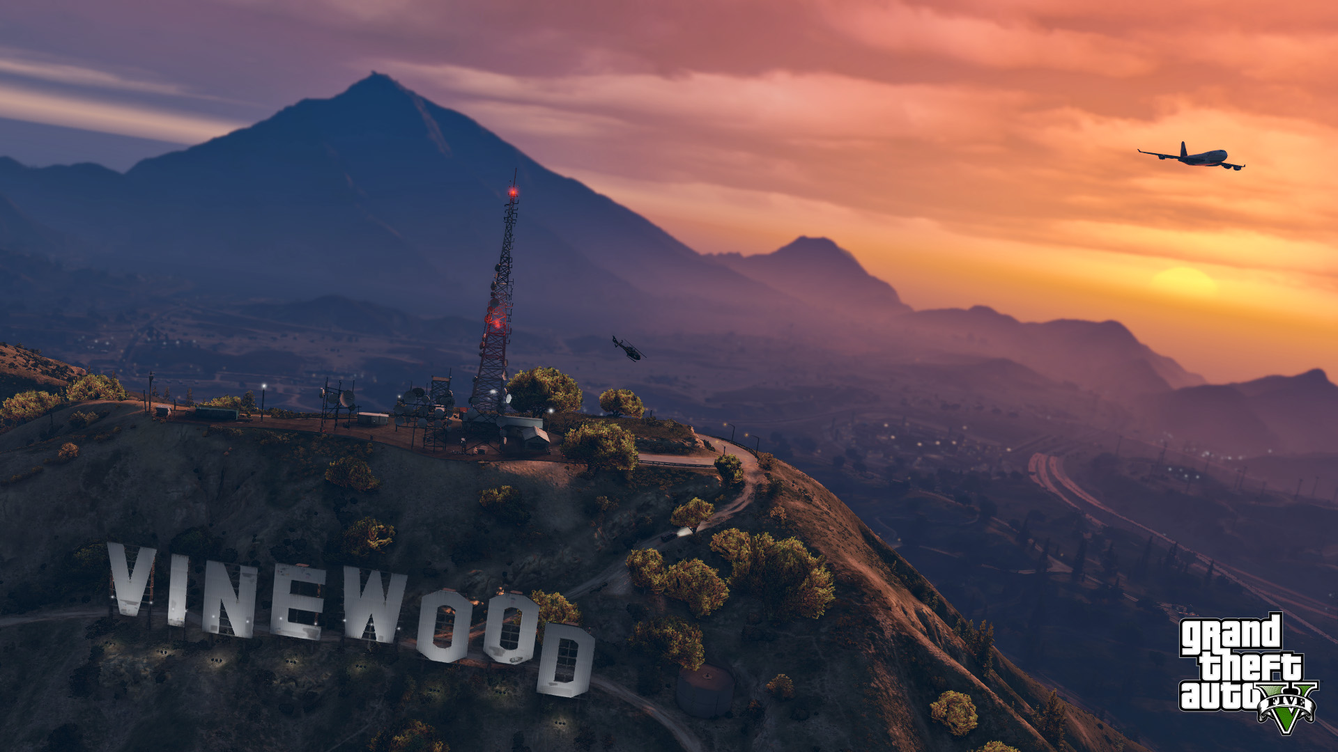 New Astonishing Looking GTA V PS4 Screens In 1080p New Trailer Coming 1920x1080
