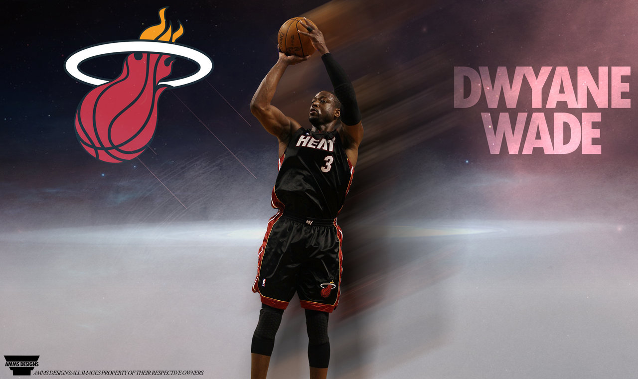 Dwyane Wade Poster by AMMSDesings 1280x761