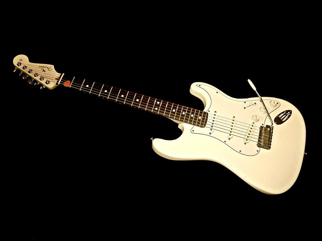 Music Desktop Fender Stratocaster Mac Background Music 1024x768