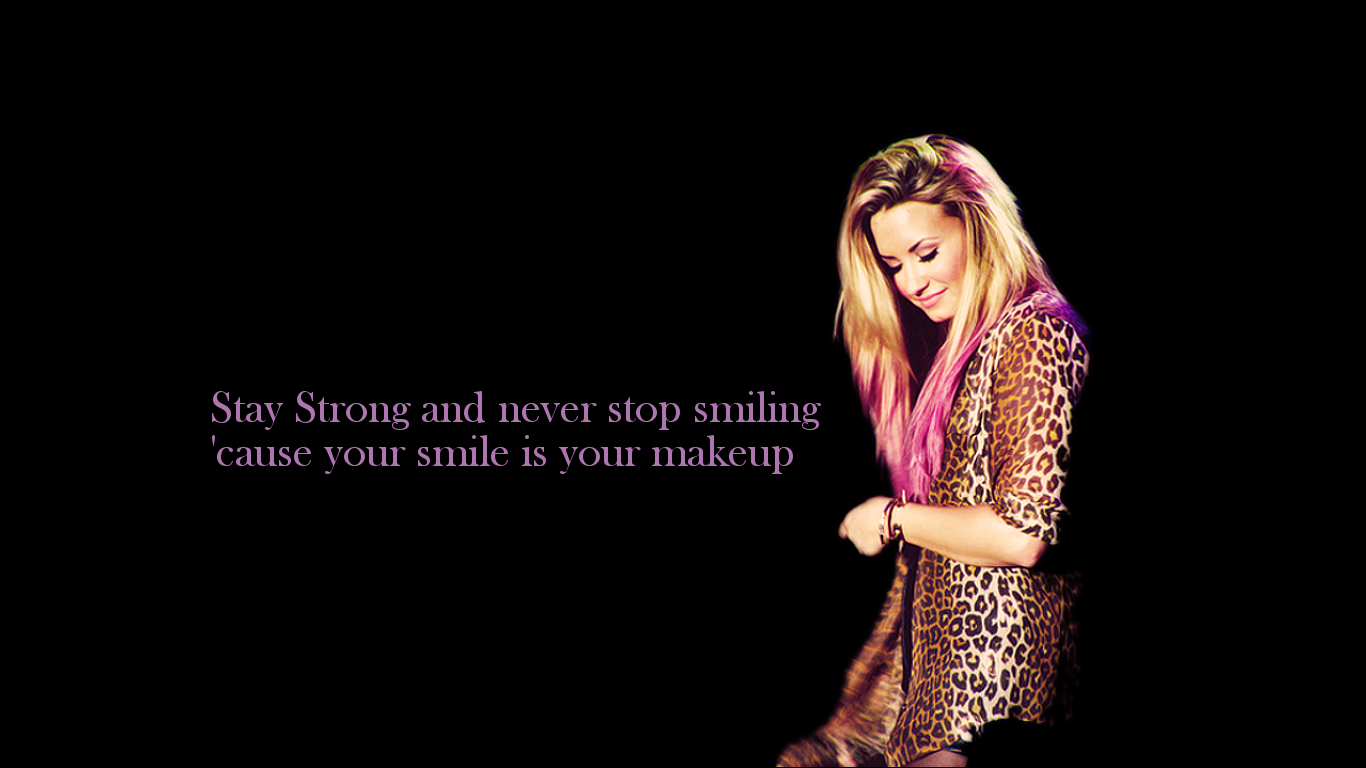 Demi lovato stay strong wallpaper wallpapersafari squeno stay strong voltagebd Images
