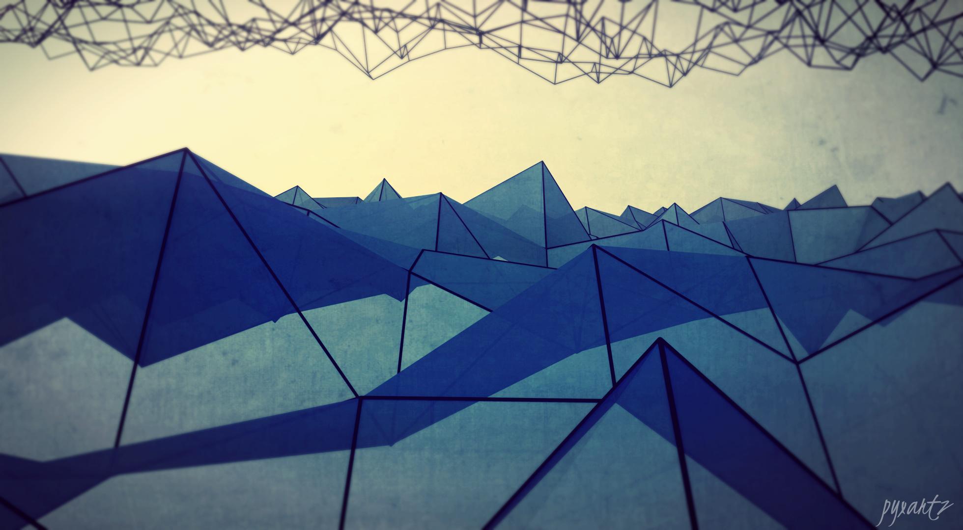 HD Polygon Wallpapers - WallpaperSafari