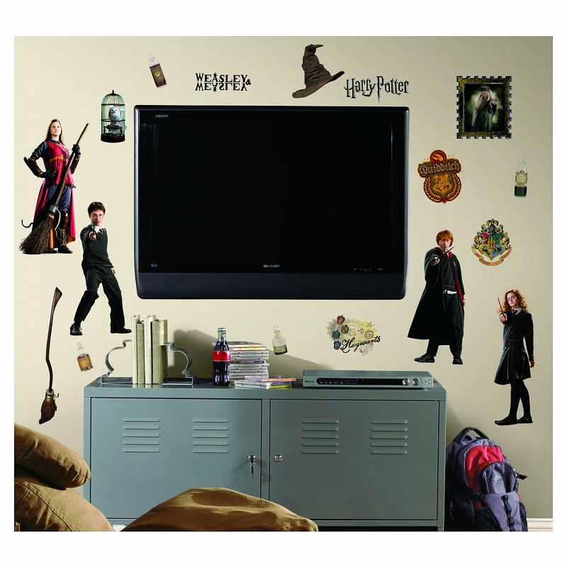 Harry Potter Peel Stick Wall Decals   Us Canada   Pricefallscom 800x800