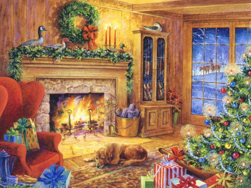 Christmas Wallpapers   Kids Desktop Backgrounds for Christmas and 1024x768