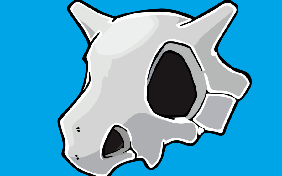 Cubone Wallpaper Cubone skull vector wallpaper 900x563