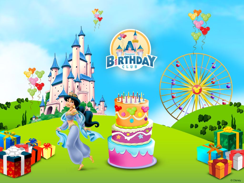 Disney Birthday Party Wallpapers 1024x768