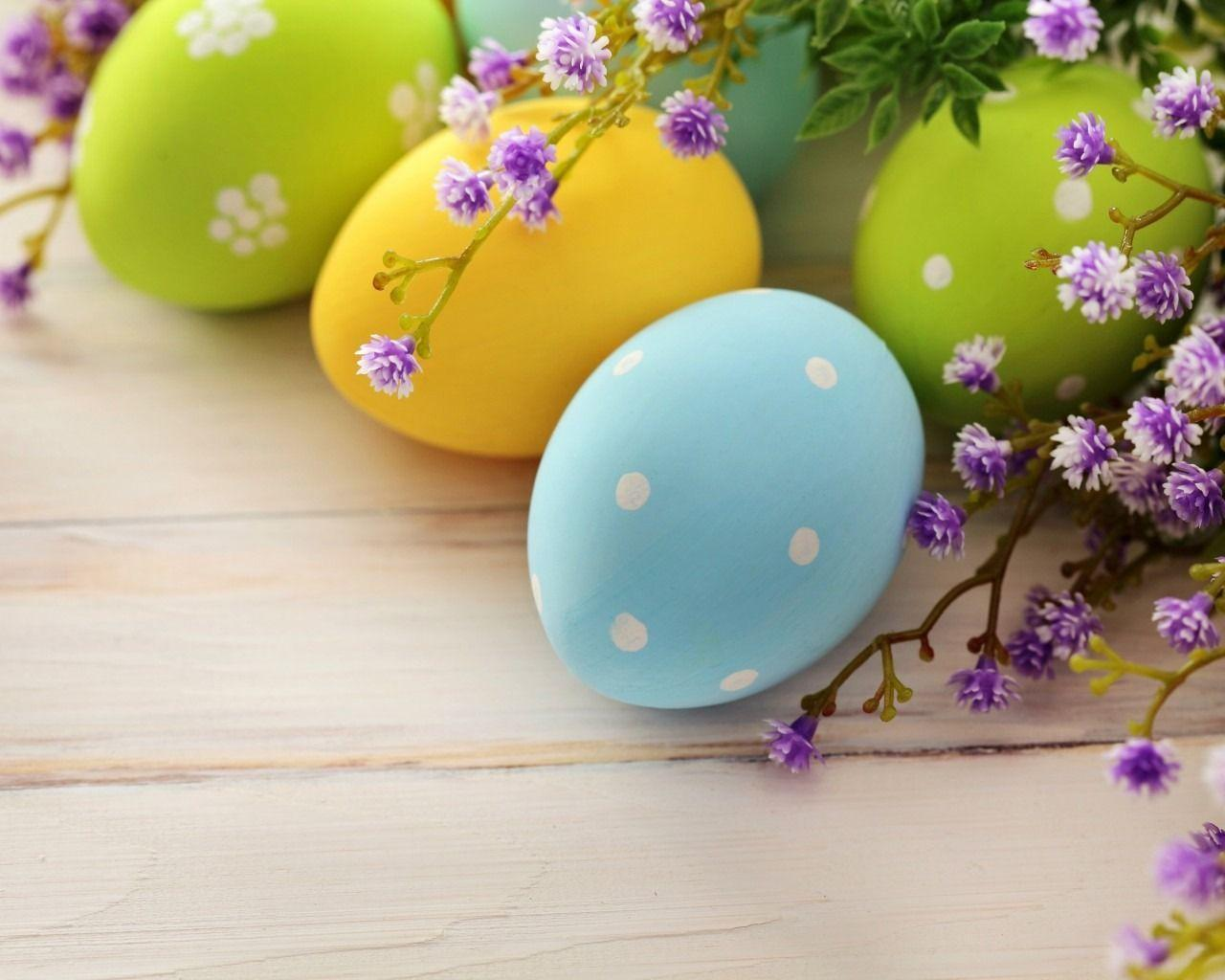 Cute Easter Backgrounds 1280x1024