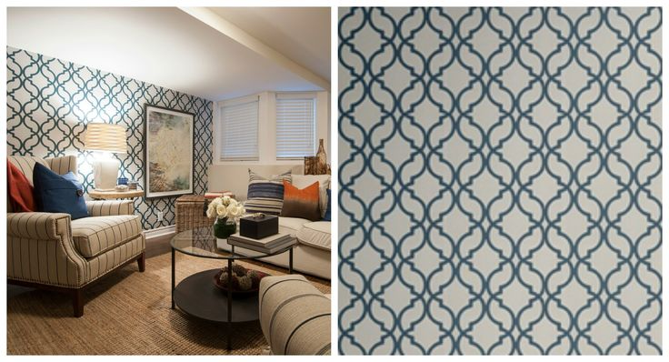 Bouclair wallpaper featured in Nick Karens Income Property HGTV 736x398