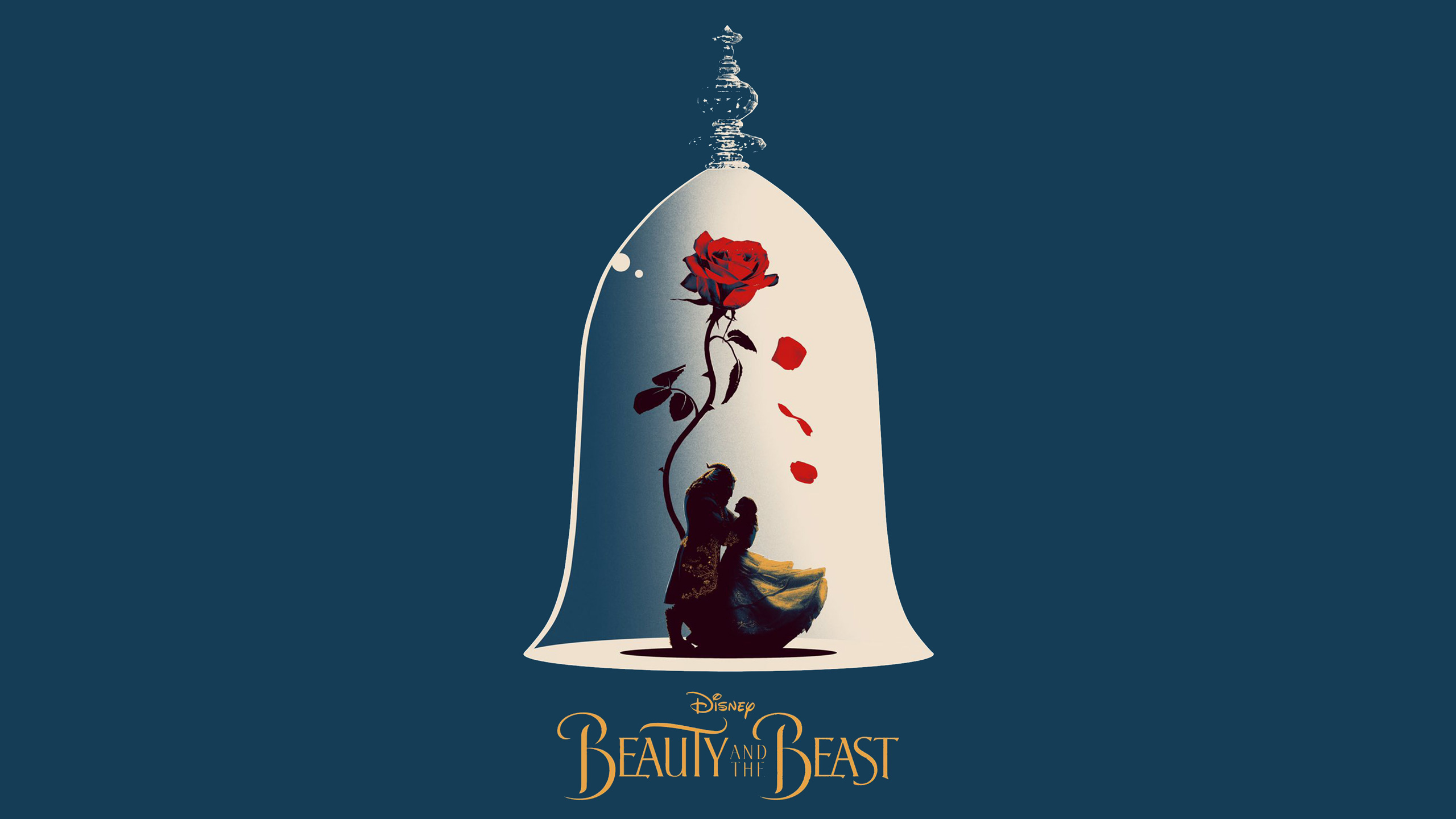 Beauty And The Beast Artwork   Beauty And The Beast Iphone 2560x1440