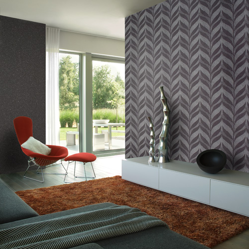 tribal about this wallpaper in such a modern setting Any thoughts 500x500