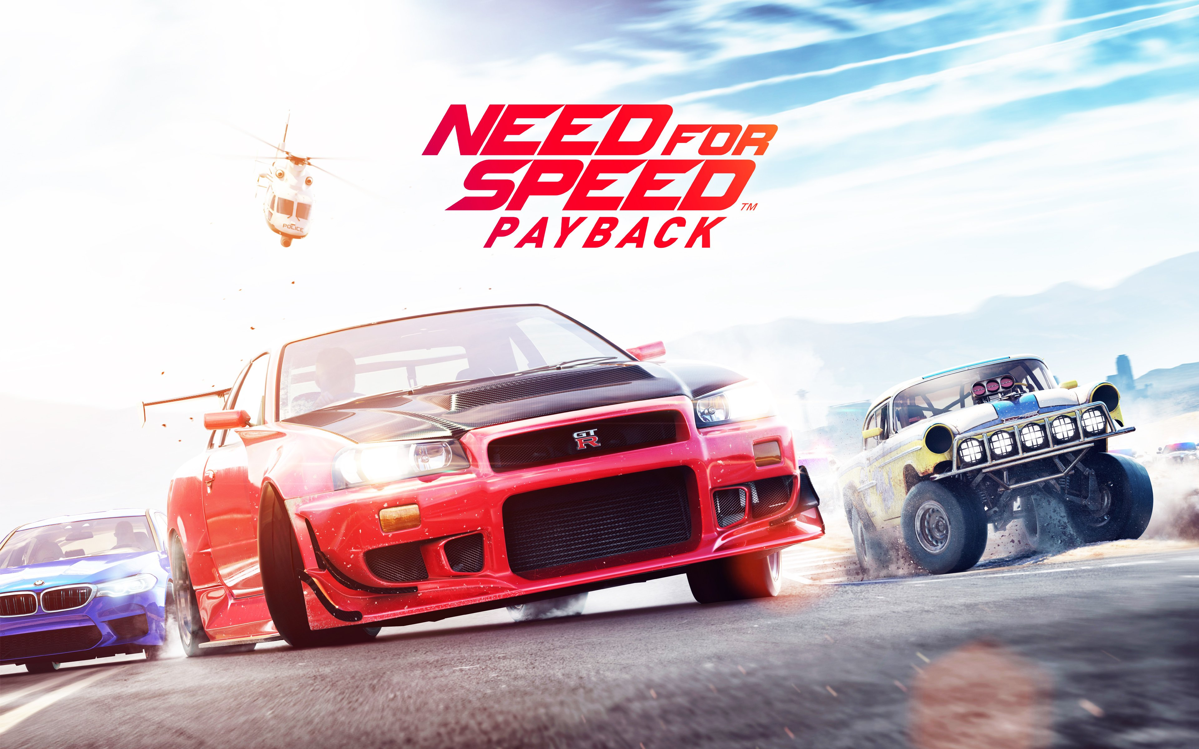 Need for Speed Payback Wallpaper Full HD Pictures 3840x2400