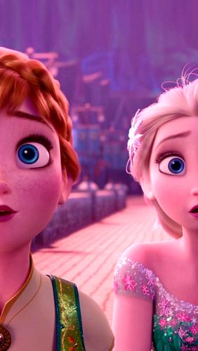 Frozen Fever Phone Wallpaper   Elsa the Snow Queen Photo 39413549 282x500