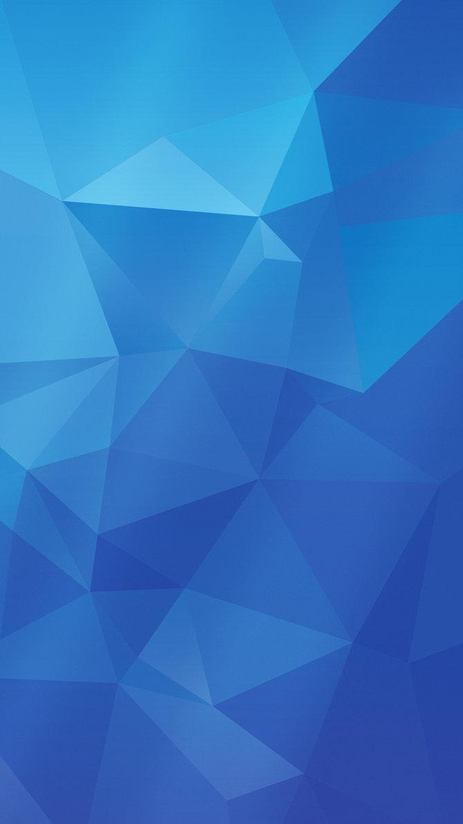 Samsung Galaxy S5 wallpaper BLUE version by Shimmi1 670x1191