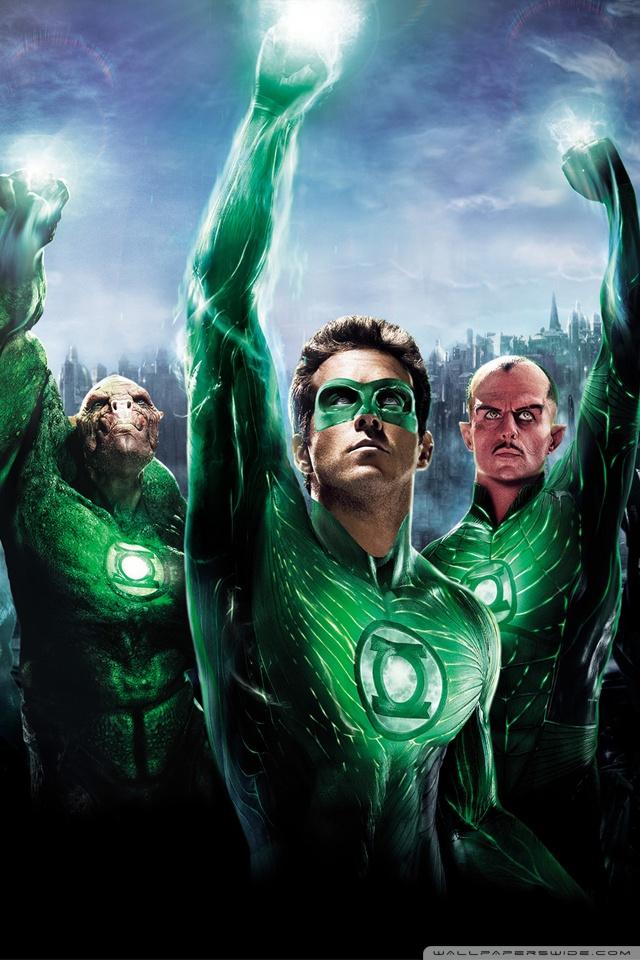 Green Lantern Movie 2011 4K HD Desktop Wallpaper for 4K Ultra 640x960