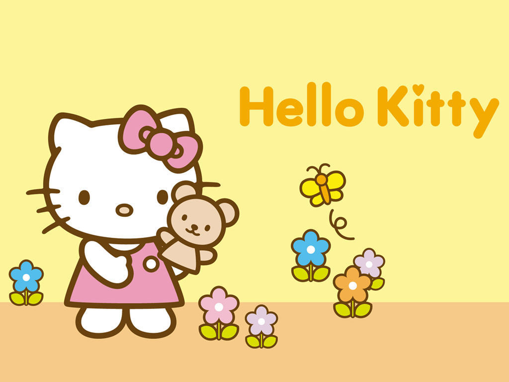 Cute Hello Kitty Wallpapers 1024x768