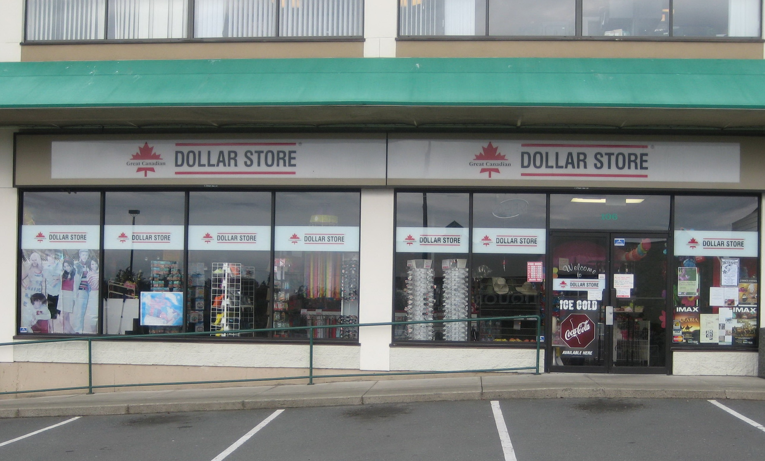 Store Front Picture of Great Canadian Dollar Storesjpg 2575x1553