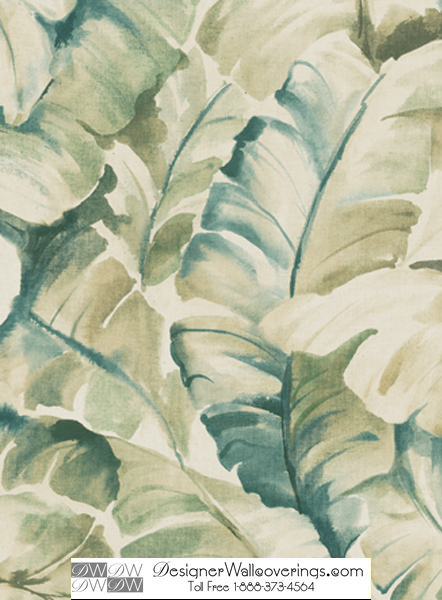 Titos Tropical Banana Leaf Wall Paper [WAT 39934] Designer 442x600