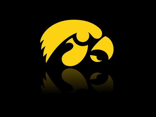Iowa Hawkeyes Logo Desktop Background 1024 x 768 Flickr   Photo 500x375