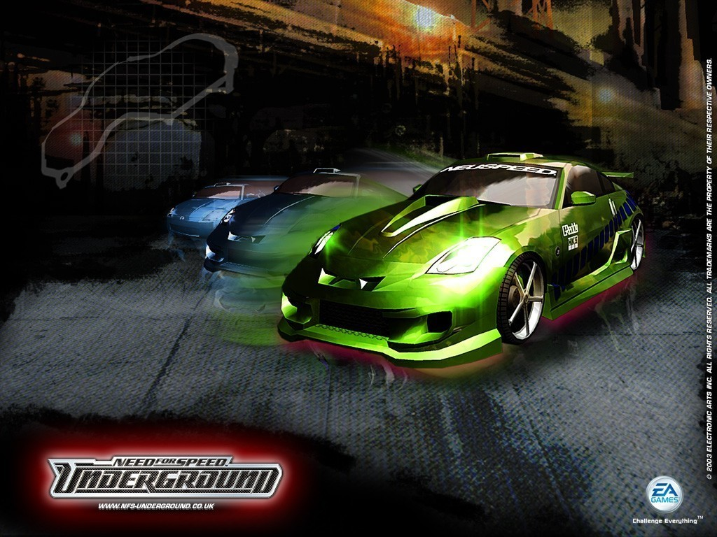 Need for Speed Underground Wallpaper Maximum Beauty Wallpaper 1024x768