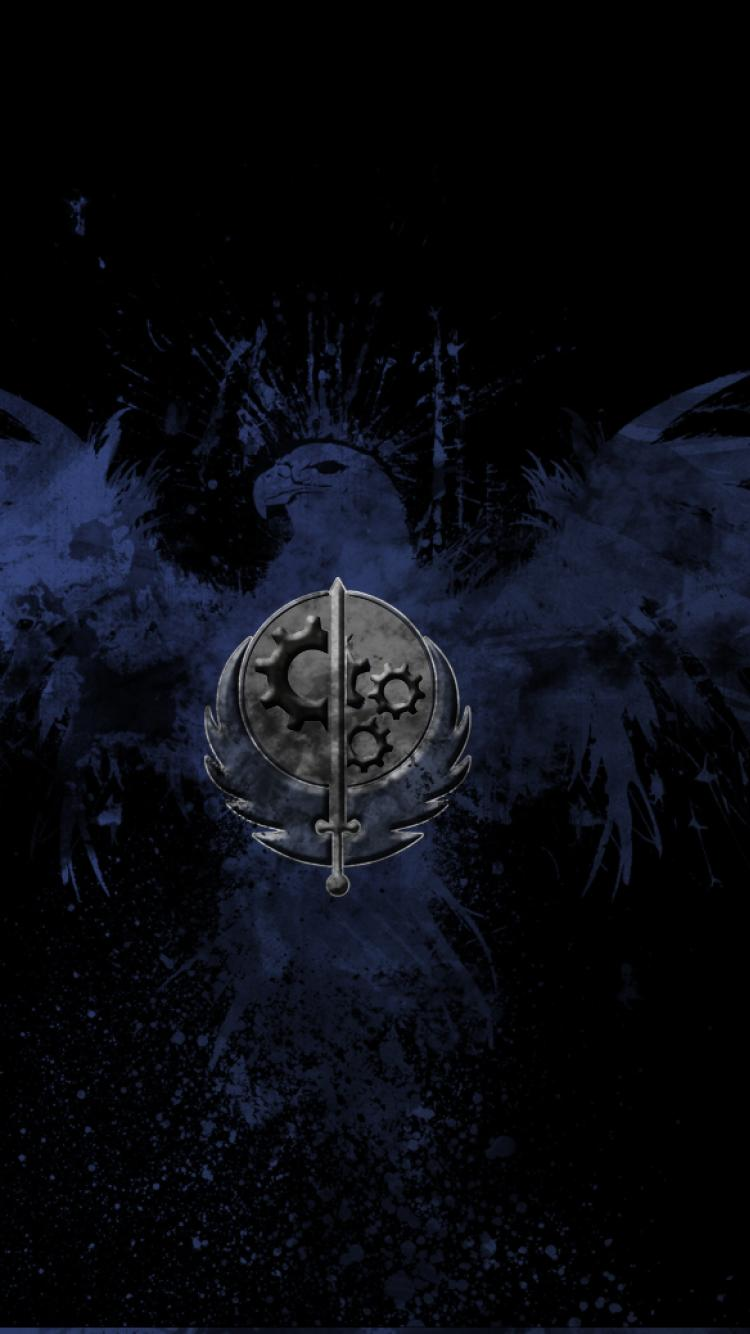 brotherhood of steel high resolution Mobile resolutions 640x960 750x1334