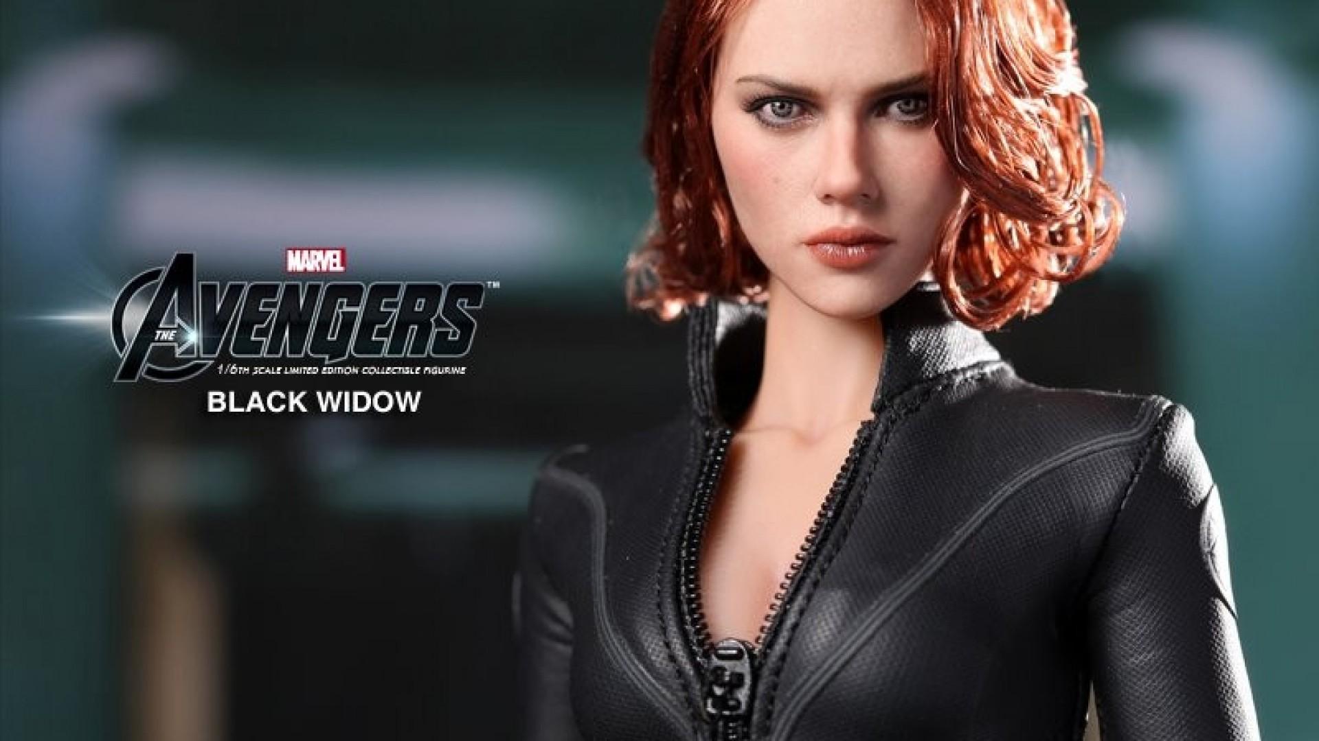 Black Widow Avengers Figurines Wallpaper   MixHD wallpapers 1920x1080