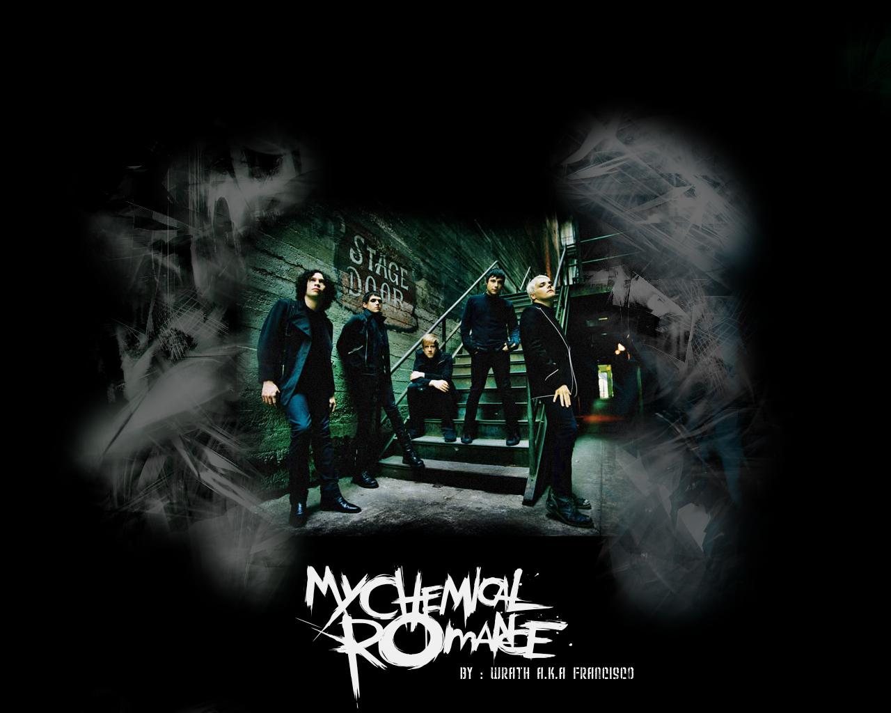 My Chemical Romance Wallpaper by King Aeolus 1280x1024
