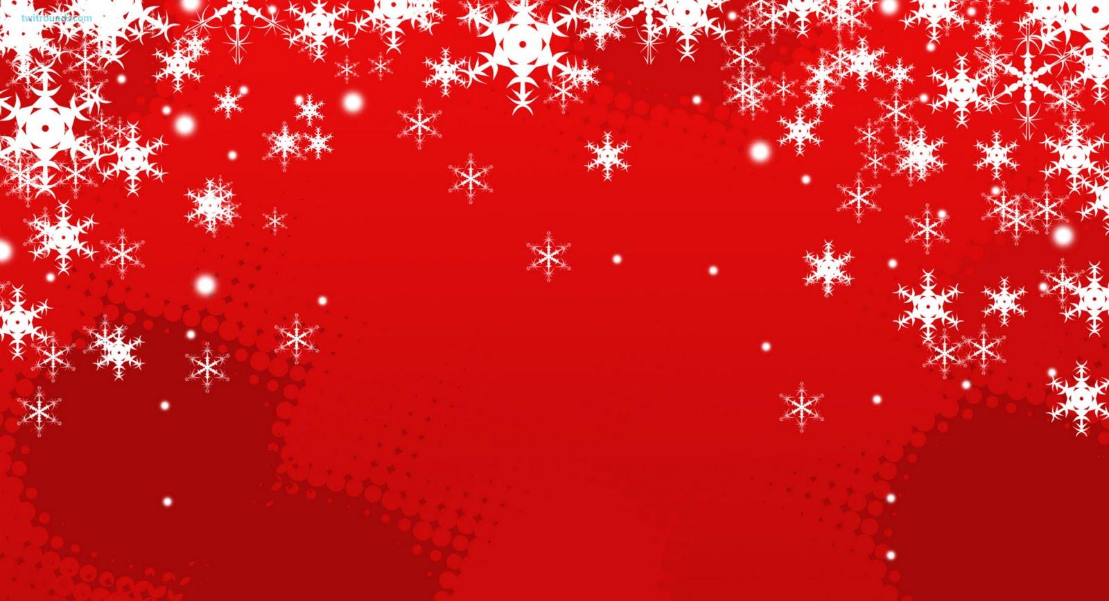 Red Christmas Backgrounds Wallpapersafari
