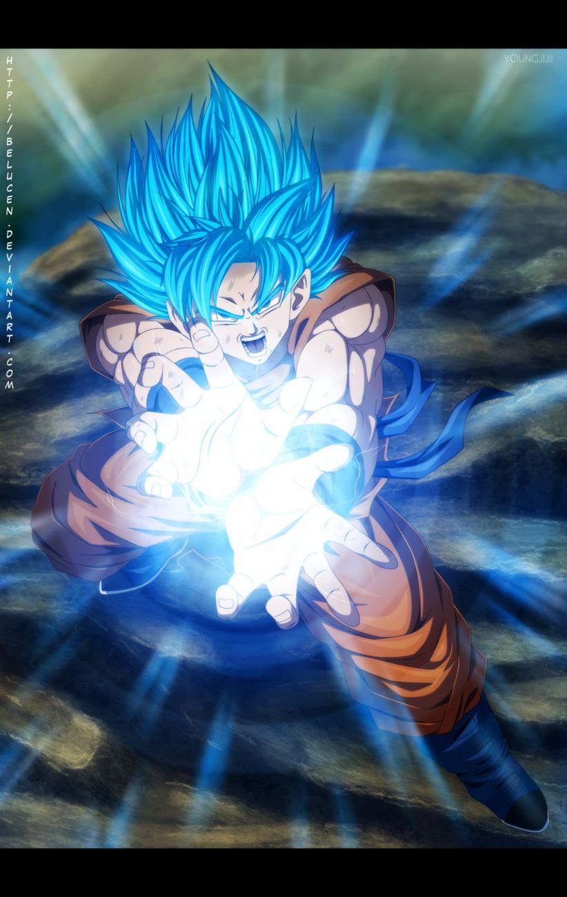 [71+] Goku Kamehameha Wallpaper on WallpaperSafari