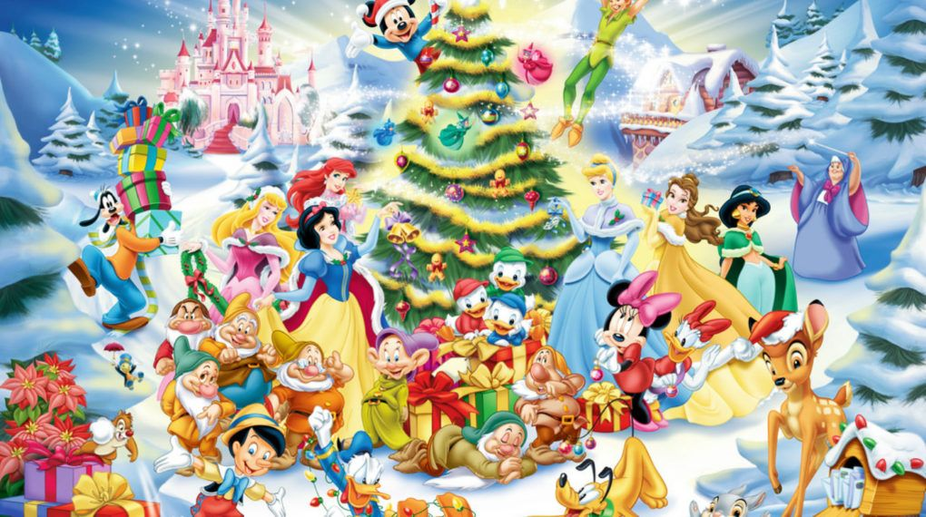 Walt Disney Christmas Wallpaper.56 Disney Christmas Background On Wallpapersafari
