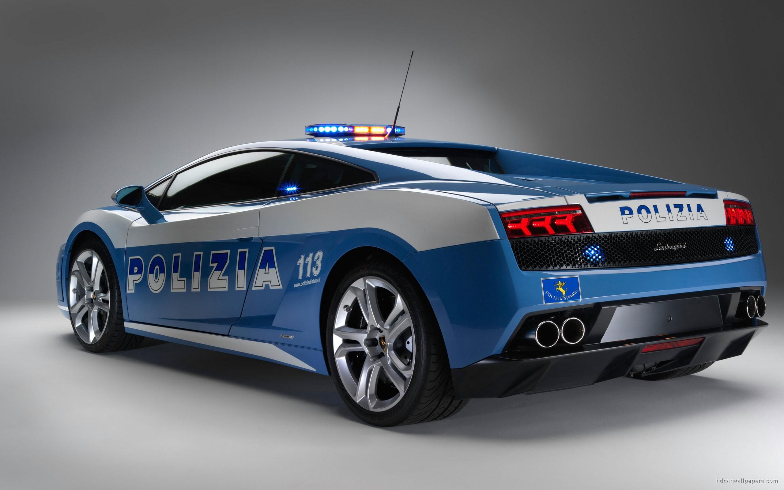 Lamborghini Gallardo Police Car Wallpaper HD Car Wallpapers 2560x1600