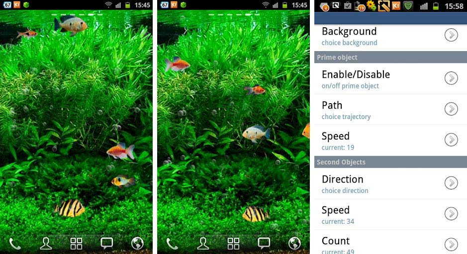 best aquarium fish live wallpapers android fish tank 3d live wallpaper 939x512
