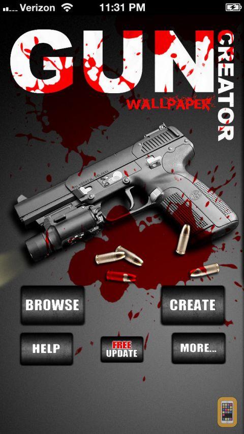 Guns Wallpaper Creator 480x852