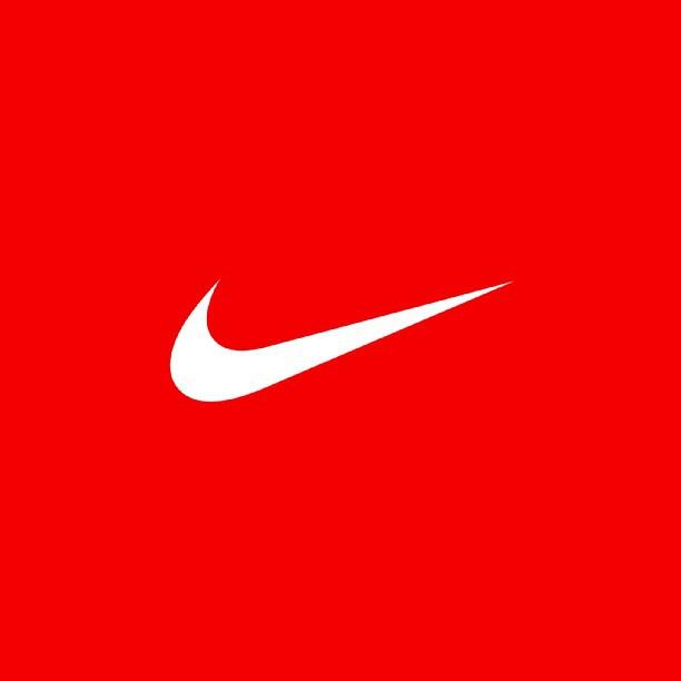 White Nike Logo nike red white logo 612x612