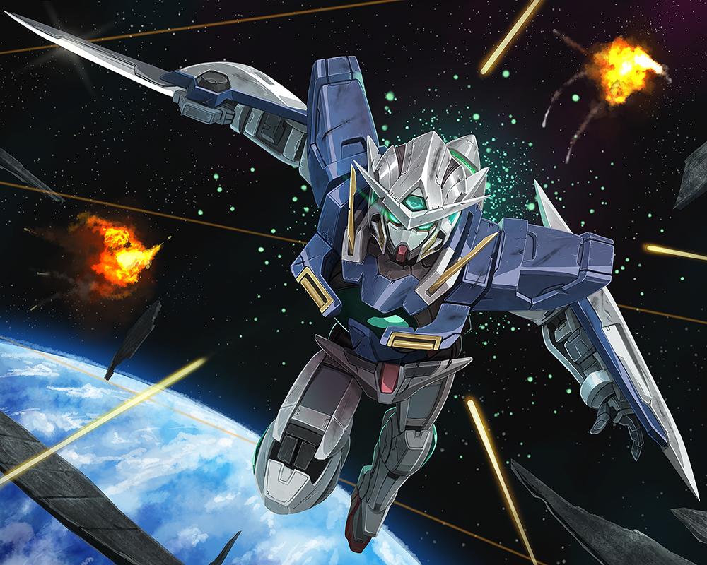 Gundam Exia by MaHenBu 1000x800