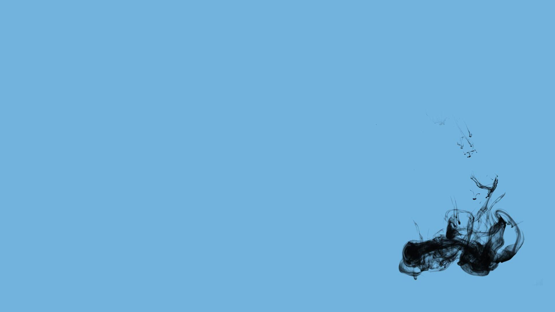 1920x1080 Baby Blue Black Wallpaper Blue Wallpapers 1920x1080