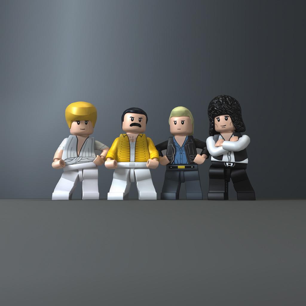 LEGO Queen Band iPad 2 Wallpaper, Fun Humor iPad 2 Wallpaper ...