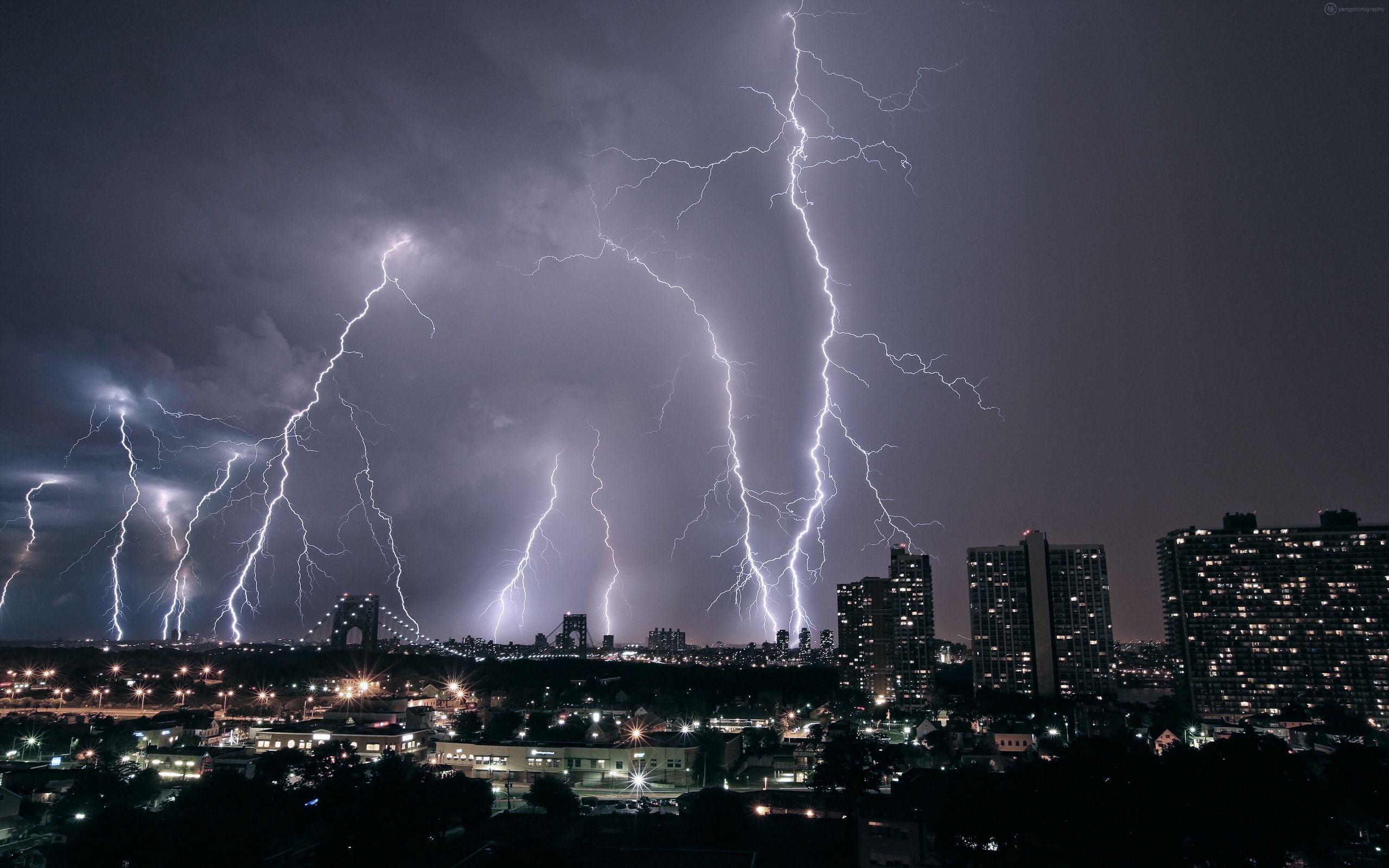 Nature Wallpaper Lightning Storm Wallpaper Phone for Desktop 2560x1600
